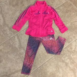 Toddler girls track suit